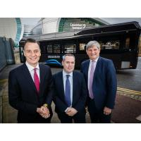 Ireland's first Electric Bus takes to the road commissioned by Tifco Hotel group
