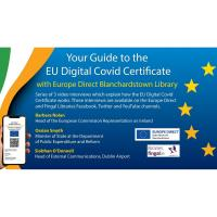 Your Guide to the EU Digital Covid Certificate with Europe Direct, Blanchardstown Library