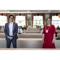 Council elects new Mayor and Deputy Mayor for 2021/22