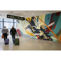 Dublin Airport's Latest Art Installation Soars into Flight