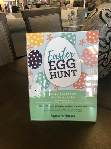 Easter Egg Hunt @ Raymour & Flanigan