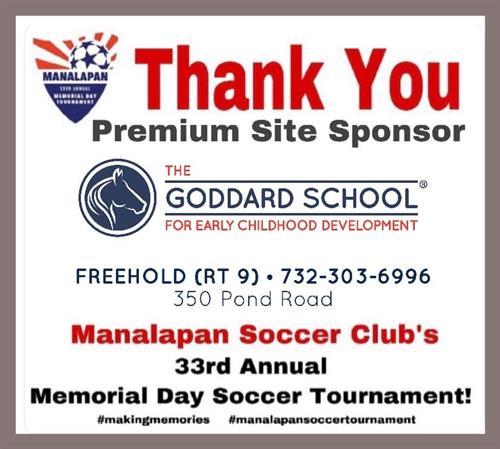 Manalapan Soccer Club-Memorial Day Sponsor