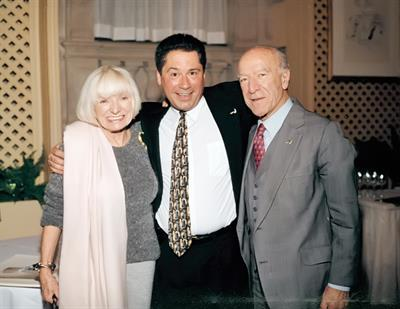 With my boss, Robert Mondavi and his wife Margarit