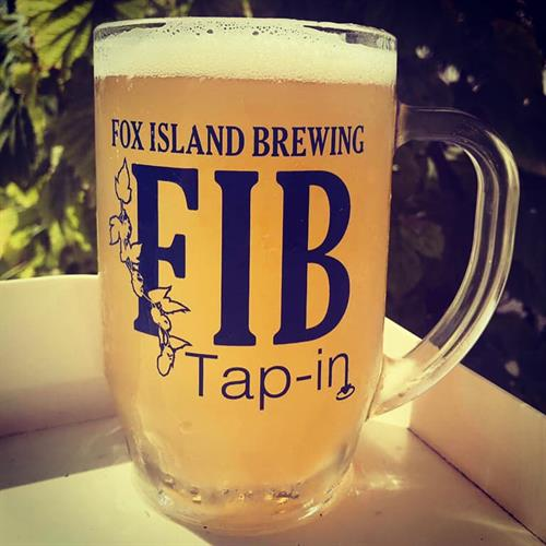 Mug of FIB Island Creamsicle IPA