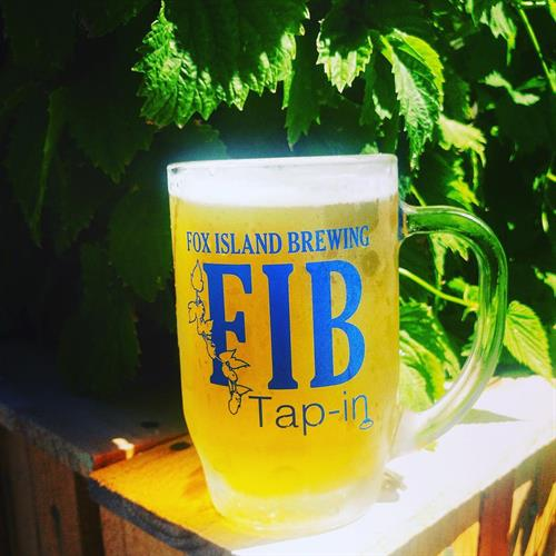 Mug of FIB Island Dive Bar Blonde