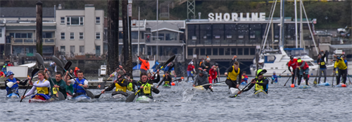 Paddlers Cup Inner Harbor Races (10k, 5k & Sprints).