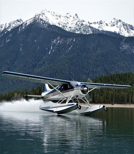 Jay departing Lake Cushman