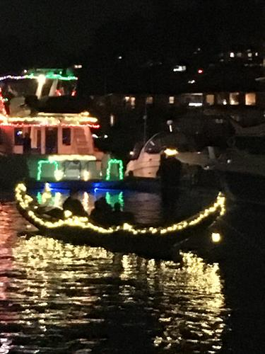 Gig Harbor Gondola all decked out1