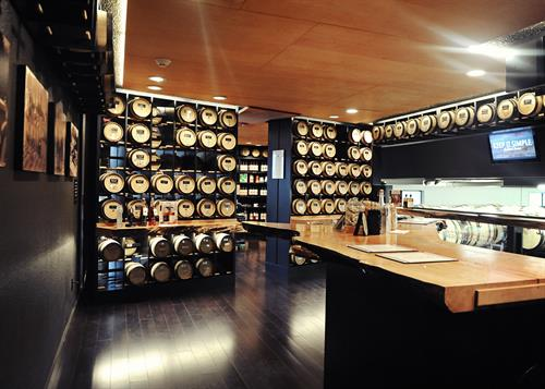 Flagship tasting room