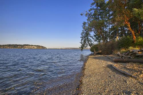 Fox Island Waterfront Lot ~ Current Listing