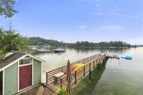 Fox Island Waterfront With Dock ~ MLS 1647973