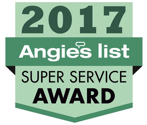 Archon is an Angie's List Super Service Award winner for many years!