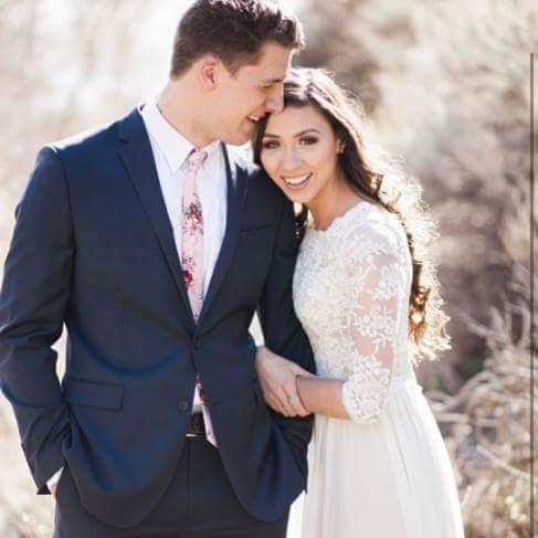 Coleman and Dakota Anderton wedding