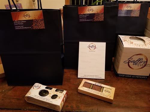 Saffire Events Goodie Bag