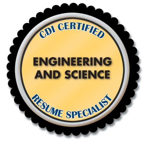 Certified Resume Specialist - Engineering + Science