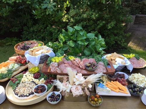 Antipasto Appetizer Display
