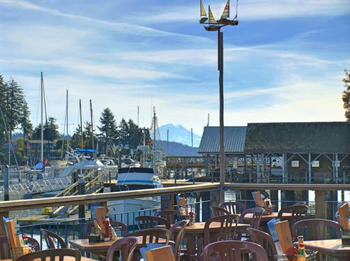 The Best Outdoor Dining in Western Washington!