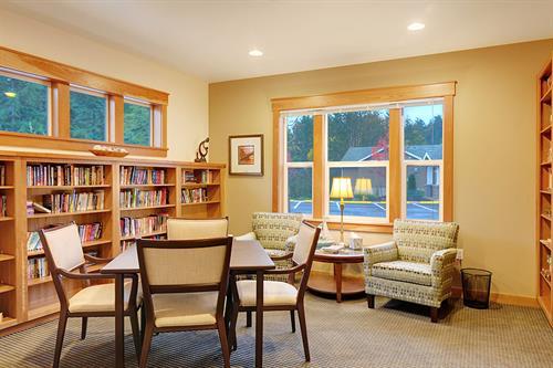 Community Center library