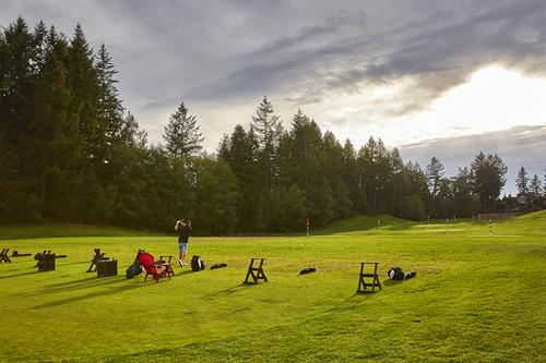 Canterwood Golf and Country Club Driving Range