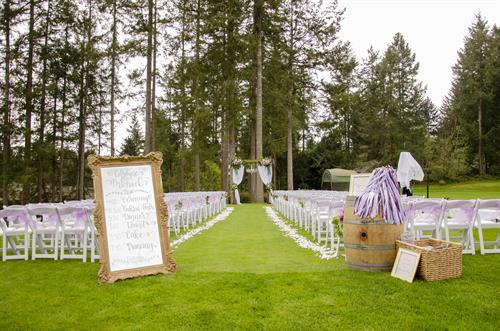 Canterwood Wedding Lawn