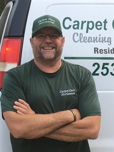 Bret Mickelson, cleaning & repair technician