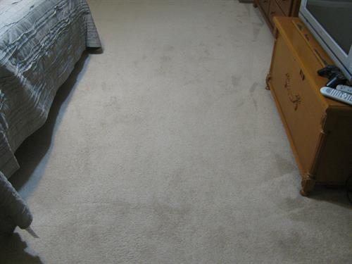 Carpet stretching (after)