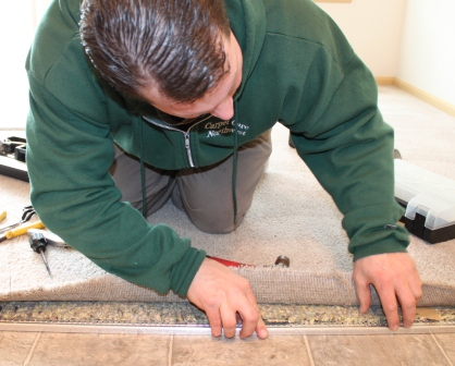 Carpet Repairs - patches, seams, color stain removal, bleach stain repairs