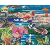 Helping People Succeed's  2020 Art for Living Calendars  available in Martin and St. Lucie businesses!