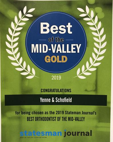 2019 Best in Mid-Valley