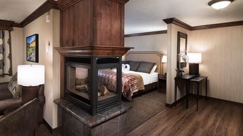 Presidential Suite Fireplace