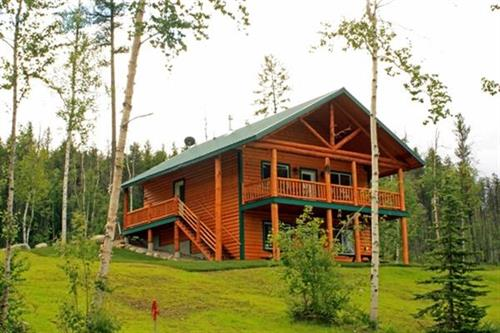 One of our beautiful cabins