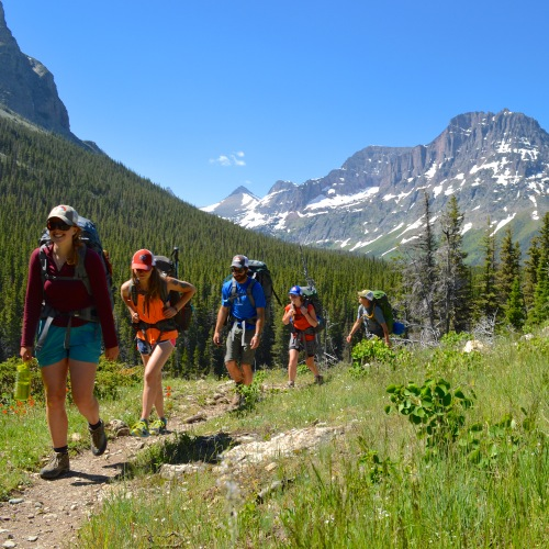 Spend a night out under Montana's big sky on one of Glacier Guides' overnight trips.