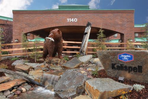 Welcome to the Hampton Inn Kalispell Montana!