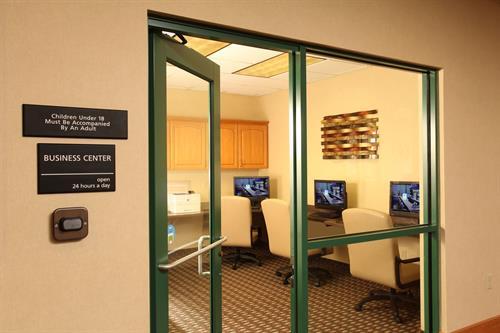 24-hour business center