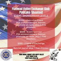 """First Annual Flathead Valley Exchange Club """"Pancake Shoot Out"""""""