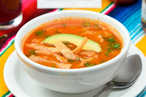 chcken tortilla soup