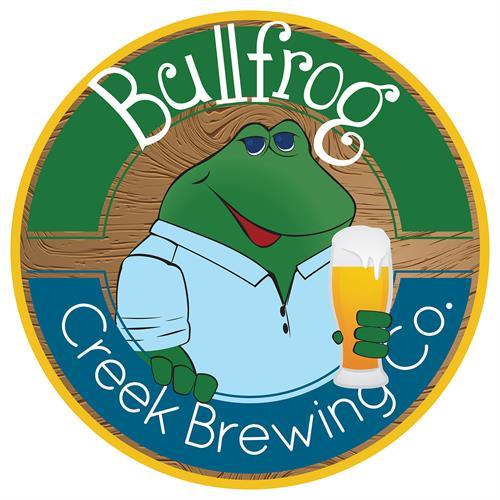 Bullfrog Creek Brewing Company, Valrico, FL - logo designs