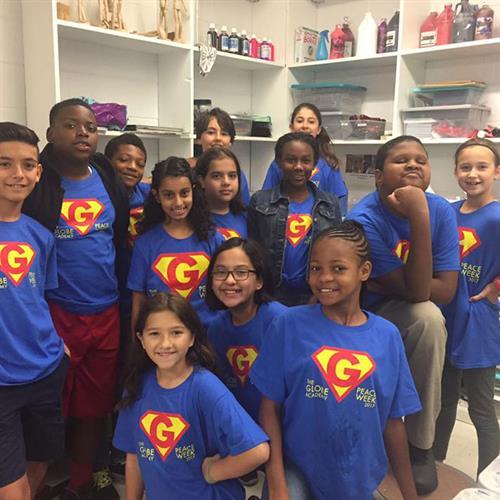 Globe Academy, Atlanta, GA - t-shirt design