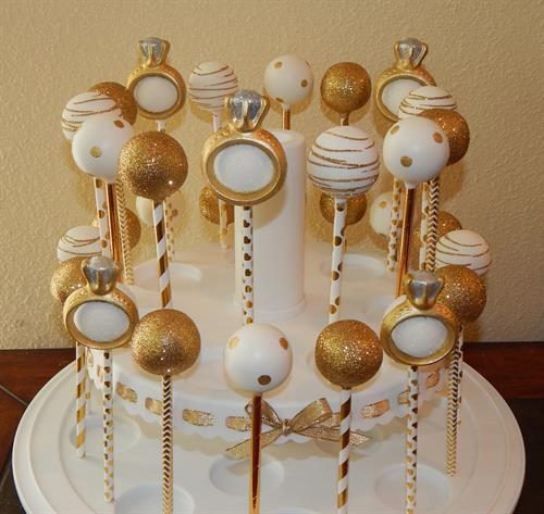 Engagement Ring Pops