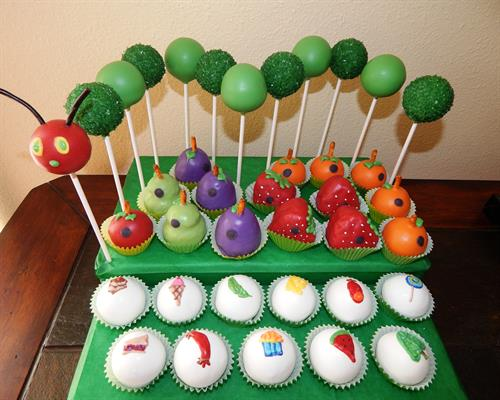 Hungry Little Caterpillar Pops