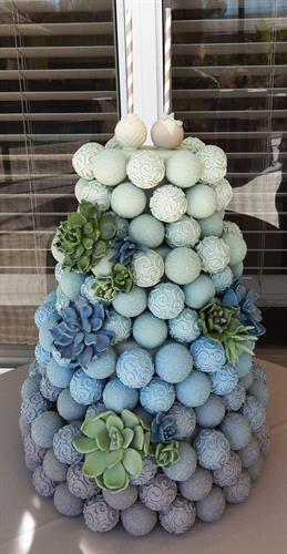 Cake Pop Wedding Cake