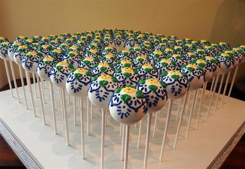 Spanish Tile Pops