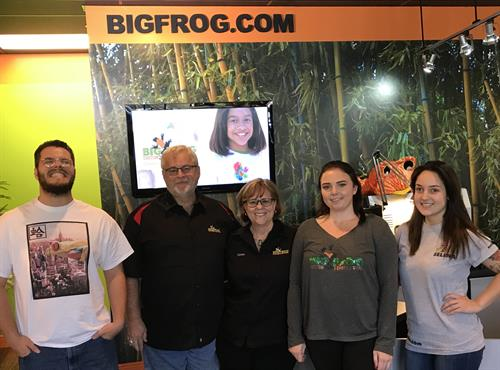 The best frogs in the pond! March 2018