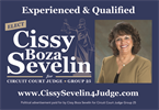 Cissy Boza Sevelin, Candidate for Circuit Court Judge, Group 25