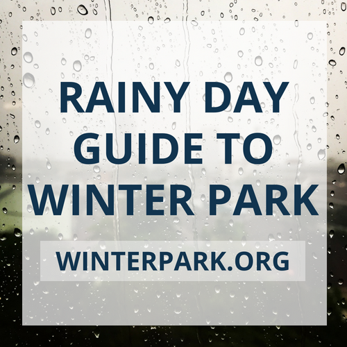 Rainy Day Guide to Winter Park