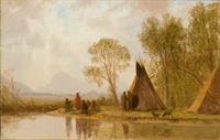 Wyoming Skies with Düsseldorf Eyes: Albert Bierstadt's Frontier Vision