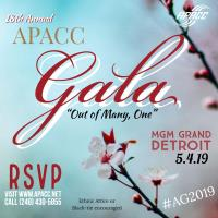 "18th Annual APACC Gala  ""Out of Many, One"""