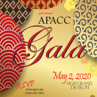 "APACC 19th Annual Gala, ""2020 Vision, Focus on the Possibilities"""