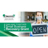 Small Retail, Restaurants, Personal Service Businesses Can Apply Now for Economic Recovery Grants