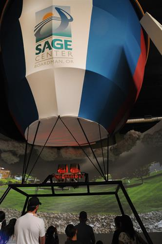 Explore Morrow County from the SAGE Center's Hot Air Balloon Experience